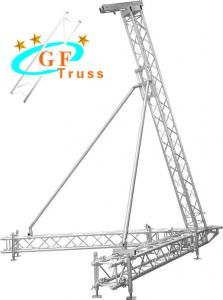 Best 6082 6M Height Line Array Truss Lift Tower With Adjustable Legs wholesale