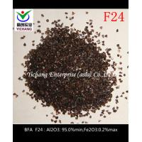 China Brown aluminum oxide size  macrogrits  microgrits and powders for abrasive media on sale