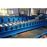 Best Corrugated Metal Deck Roll Forming Machine With Hydraulic Cutting, Hydraulic Punching wholesale