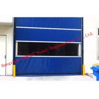 Best Finished Surface PVC Automatic Industrial Garage Doors Roller Shutter With Visual Window wholesale