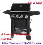 Best 4 Burner Stainless Steel Gas Grills wholesale