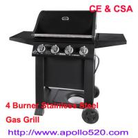 Best Free Standing Gas Grill 4 Burner with CSA Certification wholesale