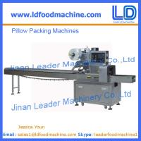 Best snacks pillow packing machine for sale wholesale