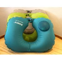 Best Easy Press Operate to Inflate Comfortable Inflatable Neck Travel Pillow,Customized Gifts for Promotional wholesale