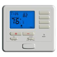 Buy cheap Wall Mount Electric Heater Thermostat For Air Conditioning System programmable room thermostat wired from wholesalers