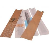 China Rectangle Brown Food Bags , Food Grade Paper Bags For Food Delivery on sale