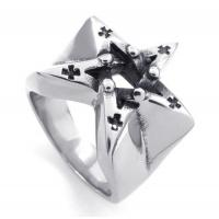 Best Tagor Jewelry Super Fashion 316L Stainless Steel Casting Rings Collection PXR001 wholesale