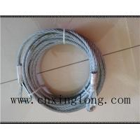 China Sell  wire rope sling with thimble in both ends on sale
