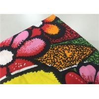 Best Red Dyed Indonesian Batik Fabric Wax Cloth Painting For Holiday Hotel Staff Uniform wholesale