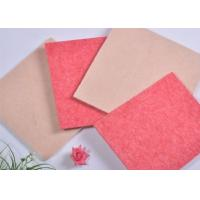Buy cheap Industrial Polyester Acoustic Panels Soundproof Boards With Pink product