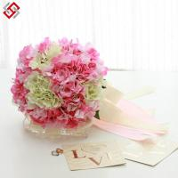 China beautiful artificial silk real touch hydrangea bouquet posy on sale