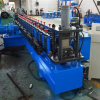 Best PLC Control Fully Automatically Slotted Strut Channel Roll Forming Machine With Gear Box wholesale