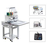 Best Touch Screen Computerized Single Head Cap Embroidery Machine Wooden Packing wholesale