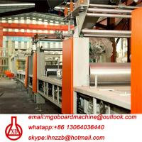 Best Fully Automatic Fire Resistant Mgo Slab / Magnesium Oxide Board Production Line wholesale