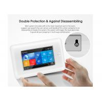 China Full Touch Screen Wireless Security Alarm System GSM 3G WIFI 2 Years Warranty on sale