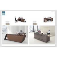 Buy cheap Melamine Surface Handle Reception Counter Table / Information Desk from wholesalers