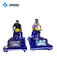 China Interactive VR Motorcycle Simulator Virtual Reality Racing Game Machine on sale