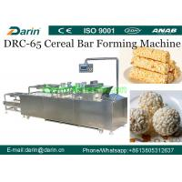 Best Crispy Puffed Snack Roasted Barley Cereal Bar Forming Machine SUS304 Material wholesale