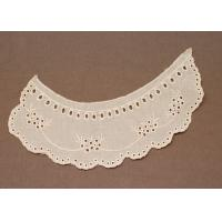 Best Ivory Peter Pan Handmade White 100 Cotton Crochet Lace Collar for Blouse wholesale