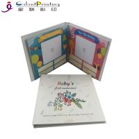 Best Hardcover Paper Printing Services Baby Memory Books Keepsake Album First Year Record wholesale