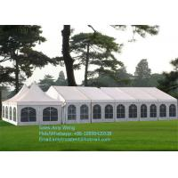 Buy cheap High Peak Outdoor Wedding Marquee , Cumtomized Multi-side Tent With Colorful PVC Roof Cover product