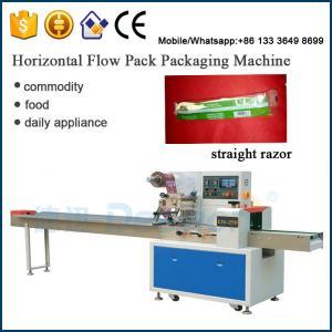 Best Chinese supplier plastic straight razor / shaving razor packing machinery wholesale