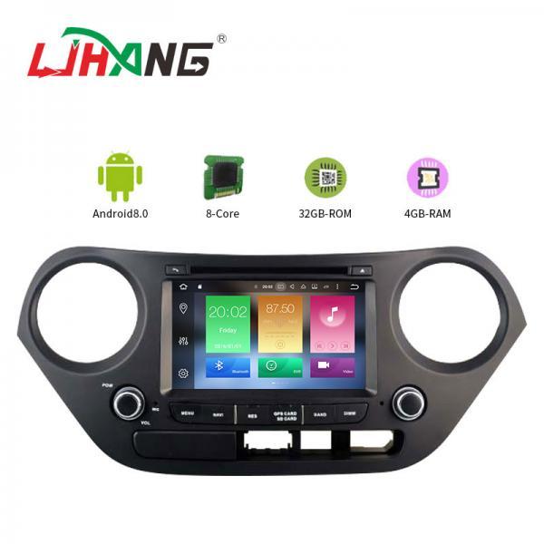 Cheap Mirror Link SWC Hyundai Elantra Dvd Player , Built - In GPS Hyundai Portable Dvd Player for sale