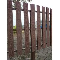 Best Natural Wooden WPC Decking / 100 % recyclable WPC Rail Fence For Farm wholesale