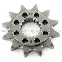 Best 20 MN Steel Front Dirt Bike Chain Sprocket With Closet Tolerance And Best Teeth Profile wholesale