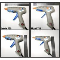 China Full Size Manufacturers OEM Color Glue-Teck Home Tools Glue Gun 60 Watt Patented Nylon Hot Glue Gun on sale