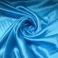 Silk Satin Fabric with 44 Inches Width, Smooth and Shiny