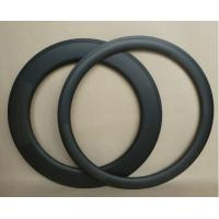 China NEW High stiffness bicycle rims 700c 38/50/60/88mm carbon tubular for sale 25mm width on sale