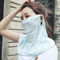 Best Women's Neck Protection Cloth Face Mask Reuseable For Riding / Decorating wholesale