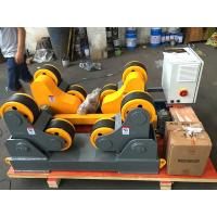China 40 T Automatic Self Adjustment Pipe Welding Rollers With Wireless Hand Control Box on sale