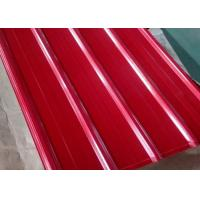 Best PPGI Colour Coated Steel Roofing Sheets RAL 9002 Color Optional Durable Steel wholesale