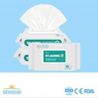 Buy cheap Wholesale 75% Alcohol hand disinfectant wet wipes for daily home anti virus from wholesalers