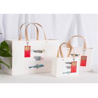 Best Glossy Luxury Paper Gift Bags , Custom Printed Jewelry Shopping Bags wholesale