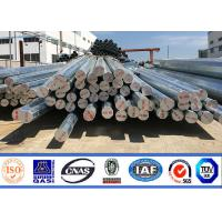 China 8m 11m Factory Price Hot Dip Galvanized octagonal Steel Pole For Transmission line on sale