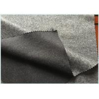 Best Socks / Hats Per Meter Stretch Wool Fabric Customized Gray with 47 Wool 650 G wholesale