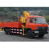 Buy cheap 10 ton Knuckle Boom Truck Crane product