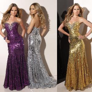 China Celebrity Dresses Evening Dress  (PM015) on sale