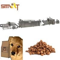China Extrusion Method Dog Cat Food Extruder Production Line Also Can Make Fish Feed on sale