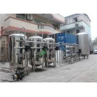 Best Stainless 304 Reverse Osmosis Water Treatment Machine With Container Automatic Valve wholesale