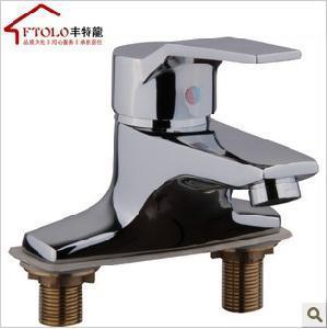 China Three Holes Basin Faucet on sale
