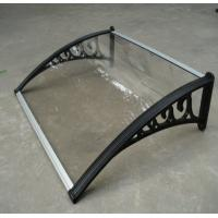 Best Wear Resistant Polycarbonate Window Awnings Aluminum Alloy Frame Balcony Use wholesale