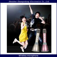 2016 New product K068 handheld wireless bluetooth microphone portable bluetooth