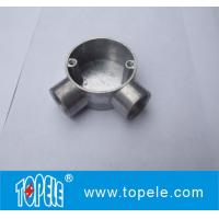Best TOPELE 25mm / 32mm BS Electrical Conduit Galvanized Aluminum Circular Junction Box For Conduit Fittings wholesale