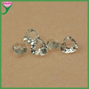 Best wholesale cheap price heart cut natural white topaz gems/ white topaz rough wholesale