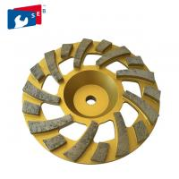 China 105mm Diamond Grinding Wheel with Cup Shape for Concrete Marble Floor on sale