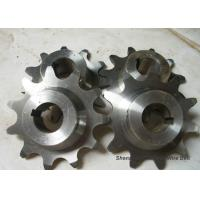 Best Precise Conveyor Chain Sprocket , Forged Stainless Steel Roller Chain Sprockets wholesale